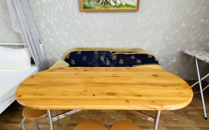 Квартира-студия в Отрадном, на первом этаже