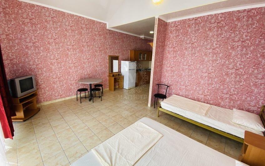 Квартира-студия в Отрадном, на четвёртом этаже